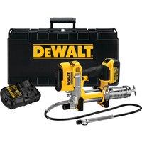 DeWalt DCGG571 18v XR Cordless Grease Gun 1 x 4ah Li-ion Charger No Case