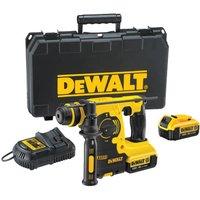 DeWalt DCH253 18v XR Cordless SDS Plus Hammer Drill 2 x 4ah Li ion Charger Case