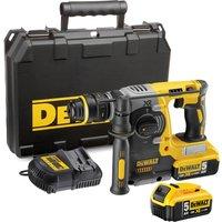 DeWalt DCH273 18v XR Cordless SDS Plus Hammer Drill 2 x 5ah Li-ion Charger Case