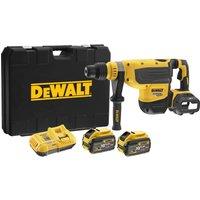 DeWalt DCH733 54V XR Flexvolt SDS Max Rotary Hammer 2 x 9ah Li ion Charger Case