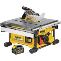 DeWalt DCS7485 54v XR Cordless FLEXVOLT Table Saw 210mm 2 x 6ah Li ion Charger Case