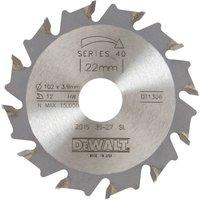 DeWalt Extreme Biscuit Jointer Saw Blade 102mm 12T 22mm