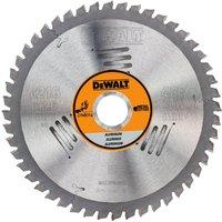 DeWalt Aluminium Cutting Saw Blade 216mm 48T 30mm
