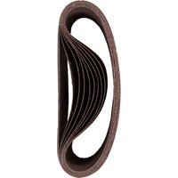 DeWalt 100 x 610mm Multi Purpose Sanding Belts 100mm x 610mm 40g Pack of 10