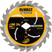 DeWalt XR Extreme Cordless Diamond Bore Saw Blade For DCS577 190mm 24T 30mm
