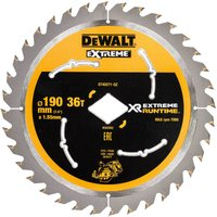 DeWalt XR Extreme Cordless Diamond Bore Saw Blade For DCS577 190mm 36T 30mm