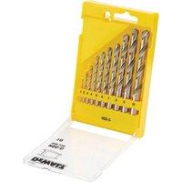 DeWalt 10 Piece HSS G Metal Drill Bit Set