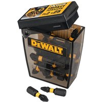 DeWalt Extreme Impact Pozi Screwdriver Bits PZ2 25mm Pack of 25