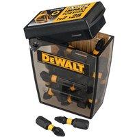 DeWalt Extreme Impact Pozi Screwdriver Bits PZ2 25mm Pack of 25