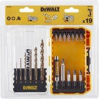DeWalt 19 Piece Extreme 2 Metal Drill and Screwdriver Bit Set in Tough Case