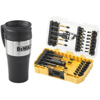 DeWalt 32 Piece FlexTorq Impact Screwdriver Bit Set and Mug