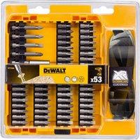 DeWalt 53 Piece Screwdriver Bit and Safety Glasses Set