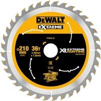 DeWalt Extreme Runtime Circular Saw Blade 210mm 36T 30mm