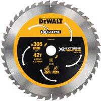 DeWalt Cordless XR FLEXVOLT Mitre Saw Blade 305mm 42T 30mm