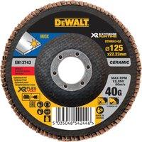 DeWalt Extreme Runtime Flap Disc 125mm 125mm 40g Pack of 1