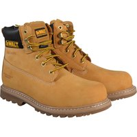 DeWalt Mens Explorer Safety Boots Sand Size 8
