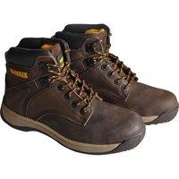 Dewalt Mens Extreme 3 Safety Boots Brown Size 10