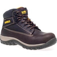 DeWalt Mens Hammer Nubuck Safety Boots Brown Size 10
