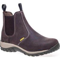 DeWalt Mens Radial Dealer Safety Boots Brown Size 8