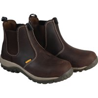 DeWalt Mens Radial Dealer Safety Boots Brown Size 10