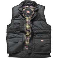 Dickies Mens Professional Combat Bodywarmer Black 2XL