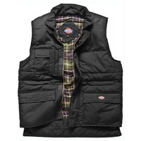 Dickies Mens Professional Combat Bodywarmer Black 3XL