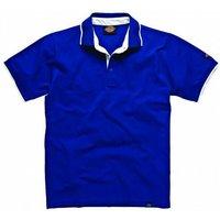 Dickies Mens Anvil Polo Shirt Blue S