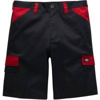 Dickies ED247SHEveryday Shorts, BlackRed, Size 32