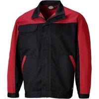 Dickies Mens Everyday CVC Jacket Black / Red S