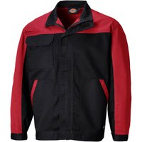 Dickies Everyday CVC Jacket Black / Red 2XL