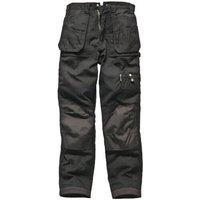 Dickies Mens Eisenhower Multi Pocket Trousers Black 30 34