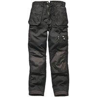 "Dickies Mens Eisenhower Multi Pocket Trousers Black 44"" 30"""