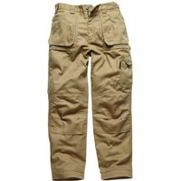 "Dickies Mens Eisenhower Multi Pocket Trousers Khaki 30"" 32"""