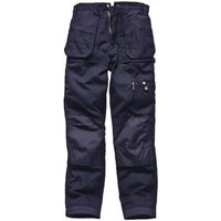 "Dickies Mens Eisenhower Multi Pocket Trousers Navy Blue 42"" 34"""