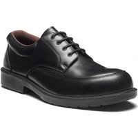 Dickies Exec Safety Shoe Black Black Size 10