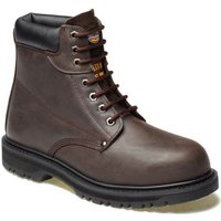 Dickies Mens Cleveland Safety Boots Dark Brown Size 8