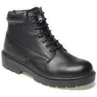 Dickies Mens Antrim Safety Boots Black Size 8