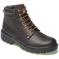 Dickies Mens Antrim Safety Boots Brown Size 8