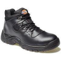 Dickies Mens Fury Safety Hiker Boots Black Size 8