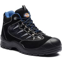 Dickies Mens Storm Safety Hiker Boots Black Size 10