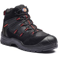 Dickies Mens Everyday Safety Work Boots Black Size 8