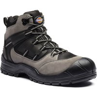 Dickies Mens Everyday Safety Work Boots Grey Size 8