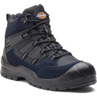 Dickies Mens Everyday Safety Work Boots Navy Size 8