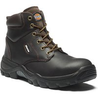 Dickies Mens Newark Safety Boots Brown Size 6