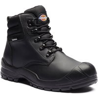 Dickies Mens Trenton Safety Work Boots Black Size 10