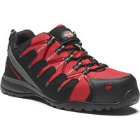 Dickies Mens Tiber Safety Trainers Red Size 10