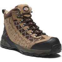 Dickies Mens Gironde Safety Boots Brown Size 8
