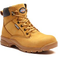 Dickies Corbett Womens Safety Work Boots Honey Size 7