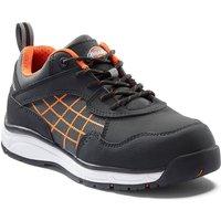 Dickies Ladies Elora Safety Trainers Black / Orange Size 7