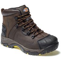 Dickies Mens Medway Safety Hiker Boots Brown Size 8
